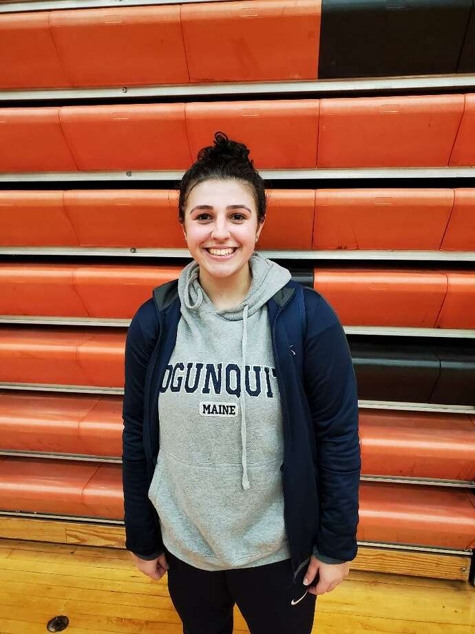 East Haven's Alexis Pendziwater scored a game-high 21 points, including five points in the game's final 1:58 to help the Yellow Jackets beat Shelton in a girls basketball game on Jan. 30, 2020 in Shelton, Conn. Photo: Tom O'Reilly / For Hearst Connecticut Media / Stamford Advocate Freelance