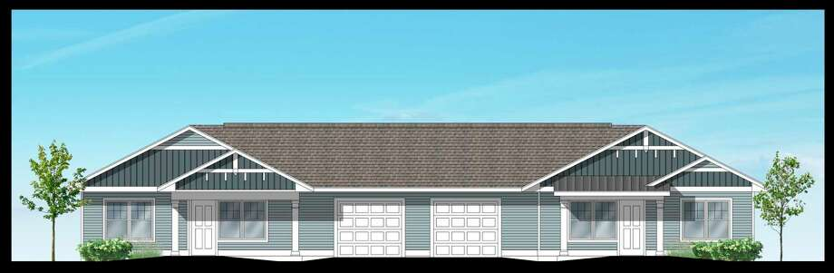 The MCCOA has partnered with a Hart-based nonprofit to build over 40 new senior housing units on the Wagoner Center property. (Courtesy drawing/Kendra Thompson)