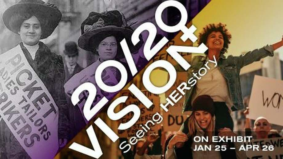 Friday, Jan. 31: Opening reception for the exhibits Redefining Representation and 20/20 Vision: Seeing HERstory is set for 7 to 9 p.m. at the Midland Center for the Arts, 1801 W St Andrews Road, Midland. The event is open to the public. (Photo provided/Midland Center for the Arts)