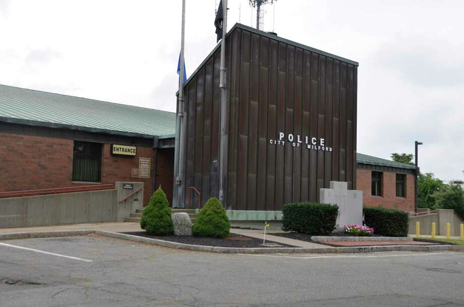 Milford police station. Photo: Jill Dion / Hearst Connecticut Media