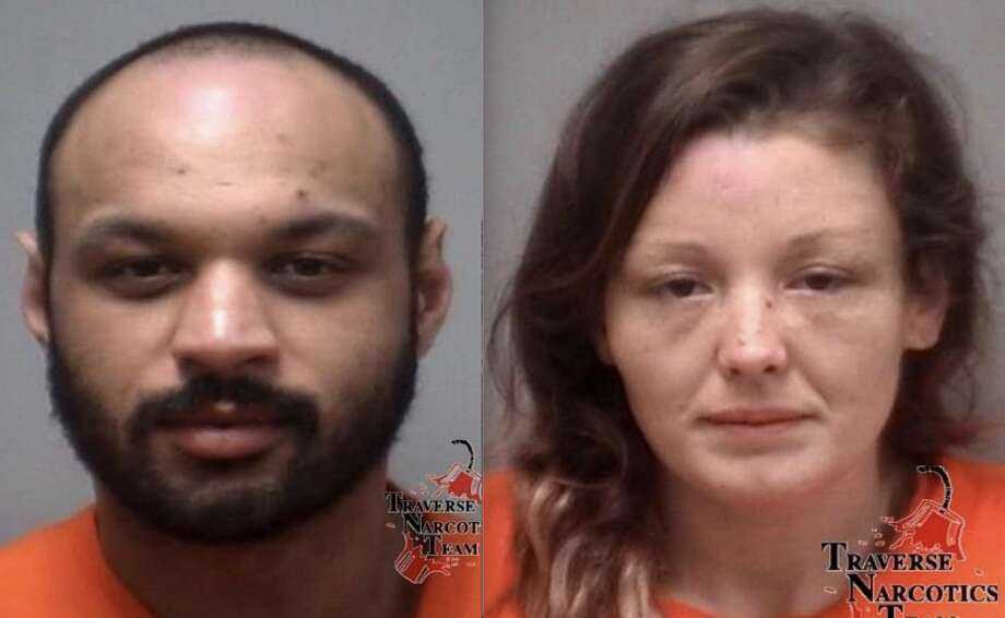 Douglas Denby, 36, of Lansing, and Tiffanie McGee, 30, of Holt. Photo: Photo Courtesy Of Traverse Narcotics Team