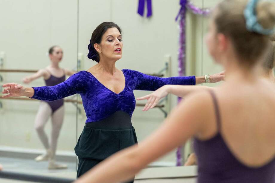 Monique Zummo Steinhagen at Marsha Woody Academy of Dance, 3717 Calder Avenue Monique now runs the dance studio founded by her mother Marsha Woody. Photo made December 9, 2019. Fran Ruchalski/The Enterprise Photo: Fran Ruchalski/The Enterprise / Fran Ruchalski/The Enterprise