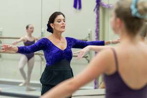 Monique Zummo Steinhagen at Marsha Woody Academy of Dance, 3717 Calder Avenue Monique now runs the dance studio founded by her mother Marsha Woody. Photo made December 9, 2019. Fran Ruchalski/The Enterprise