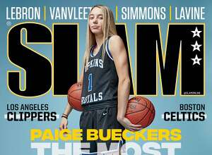 UConn recruit Paige Bueckers on the cover of SLAM Magazine.