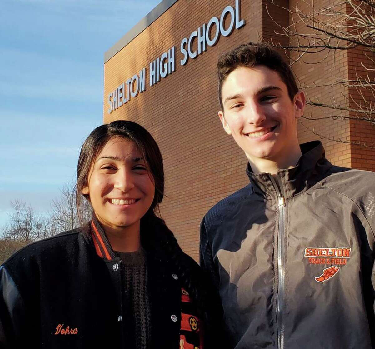 Leya Vohra and Owen Corbett have been chosen Southern Connecticut Conference Scholar Athletes for the winter season.