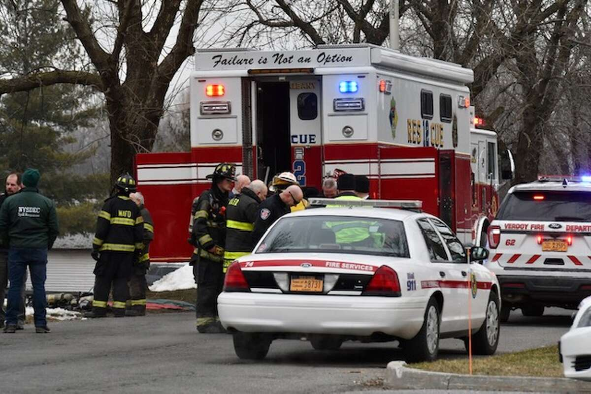 Police and firefighters descended on the local Pepsi plant in Colonie Friday to deal with a nitrogen leak.