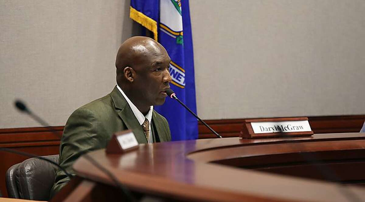 Daryl McGraw is the chairman of the Police Transparency and Accountability Task Force.