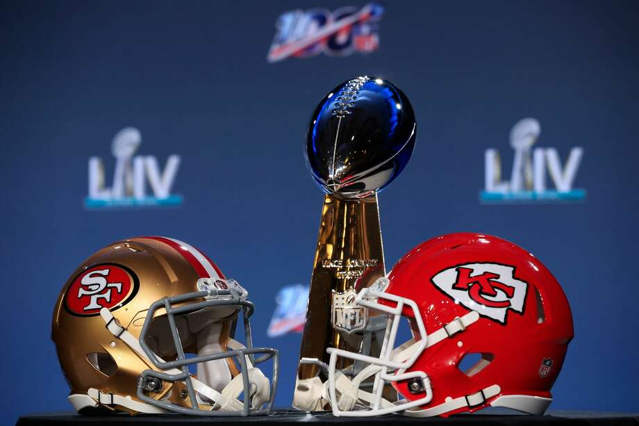 PHOTOS: Take a look at some of the more obscure bets you can make on this year's Super Bowl The Kansas City Chiefs are slight favorites to beat the San Francisco 49ers in Super Bowl LIV on Sunday, but there are plenty of more exotic bets you can make on the game and everything around it. (NOTE: +200 means if you bet $100, you would win $200. -200 means if you have to wager $200 in order to win $100) Browse through the photos above for a look at some of the wilder bets you can make on this year's Super Bowl ... Photo: Cliff Hawkins/Getty Images