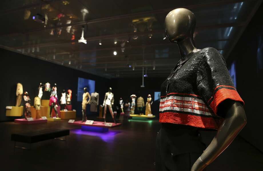 """""""Fashion Nirvana: Runway to Everyday"""": The first exhibit at the McNay Art Museum to showcase fashion and video art. It focuses on work from the 1990s, and includes clothes designed by the likes of Gianni Versace, Jean Paul Gaultier and Isaac Mizrahi, shown alongside video pieces by John Sanborn, Seoungho Cho and Kristin Lucas.  Through May 17, McNay Art Museum, 6000 N. New Braunfels Ave. Included in museum general admission ($10-$20); free for McNay members, children 12 and younger and active-duty military; free for everyone 4-9 p.m. Thursdays and the first Sunday of each month. — Deborah Martin Photo: Kin Man Hui / Staff Photograper / **MANDATORY CREDIT FOR PHOTOGRAPHER AND SAN ANTONIO EXPRESS-NEWS/NO SALES/MAGS OUT/ TV OUT"""