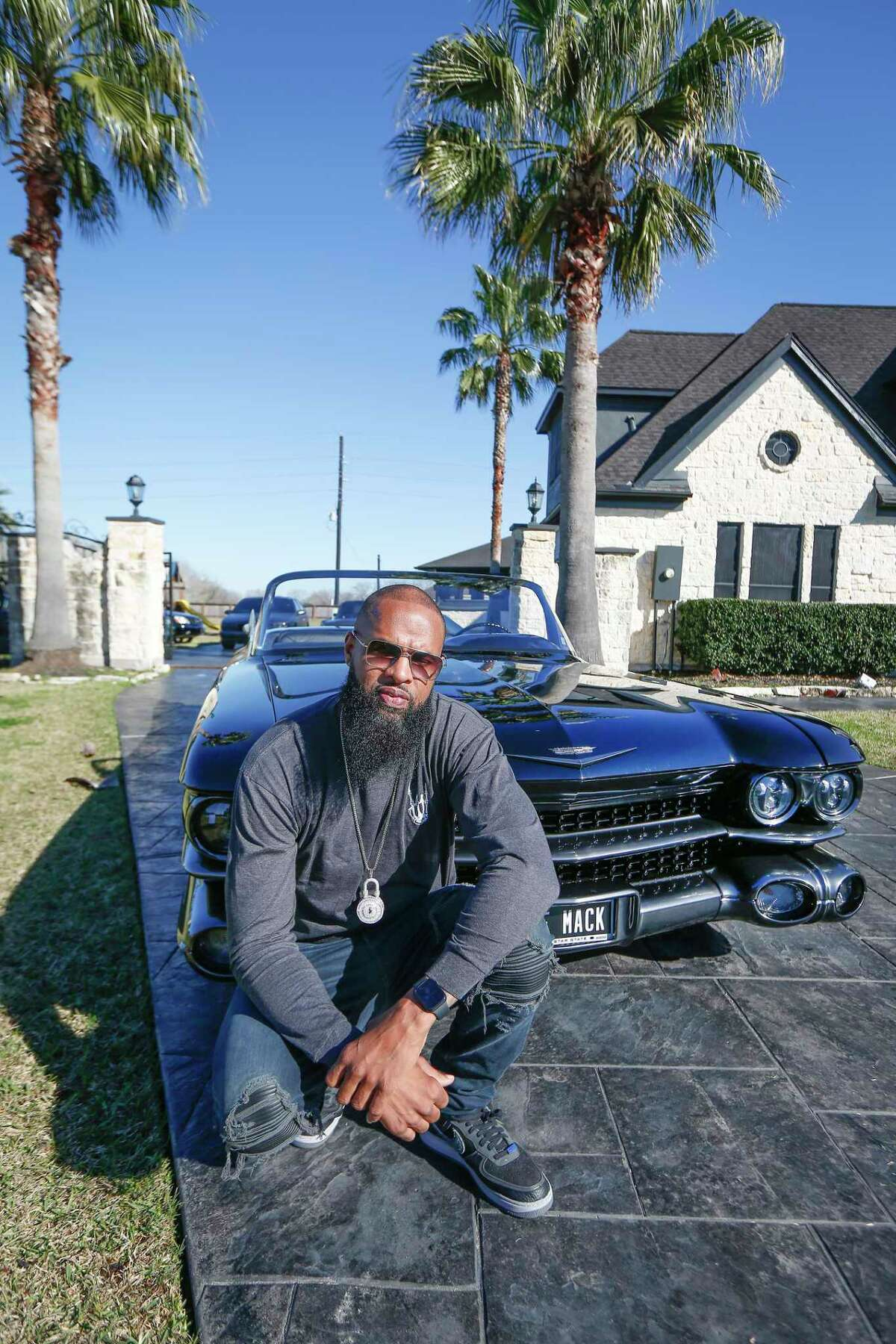 Rapper Slim Thug has a rare car collection, his favorite car is the called