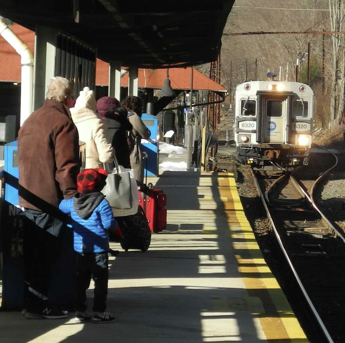 Branchville train station in Ridgefield is on the Danbury Branch line, which is among the operations that would benefit from the addition of new locomotives and cars under the proposed CT 2030 program.