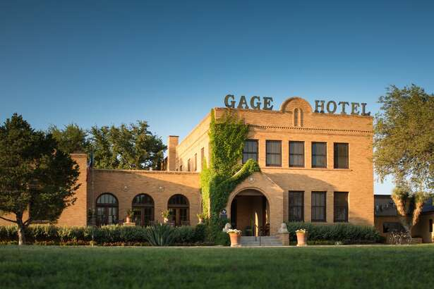 Built in 1927 by the noted El Paso architect, Henry Trost, the 45-room Gage Hotel offers laid-back luxury crossed with a West Texas charm.