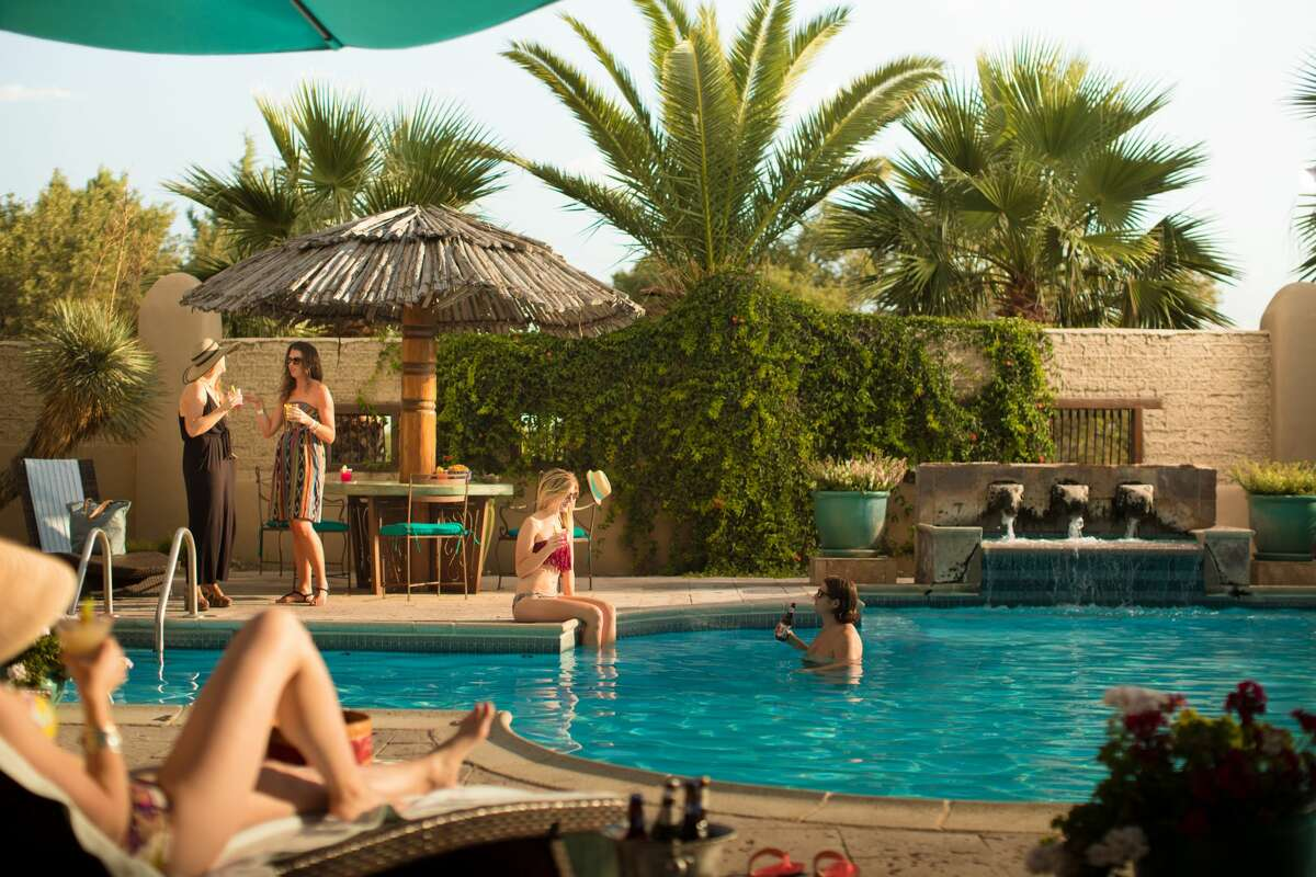 If you need to rest and recharge, take a dip in the Gage Hotel pool or indulge in the full-service spa.