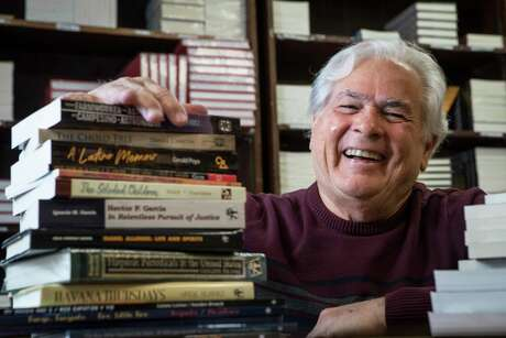 Nicolas Kanellos, Ph.D., founder and director of Houston-based Arte Pubico Press, helped lead the way publishing work by Hispanic authors in 1979. The publisher has spent 40 years giving voice to authors who have been largely ignored by the American publishing industry.