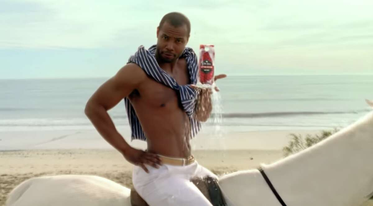 """A still from Old Spice's """"The Man Your Man Could Smell Like."""" >> More photos: See the 2020 Super Bowl commercials >>"""