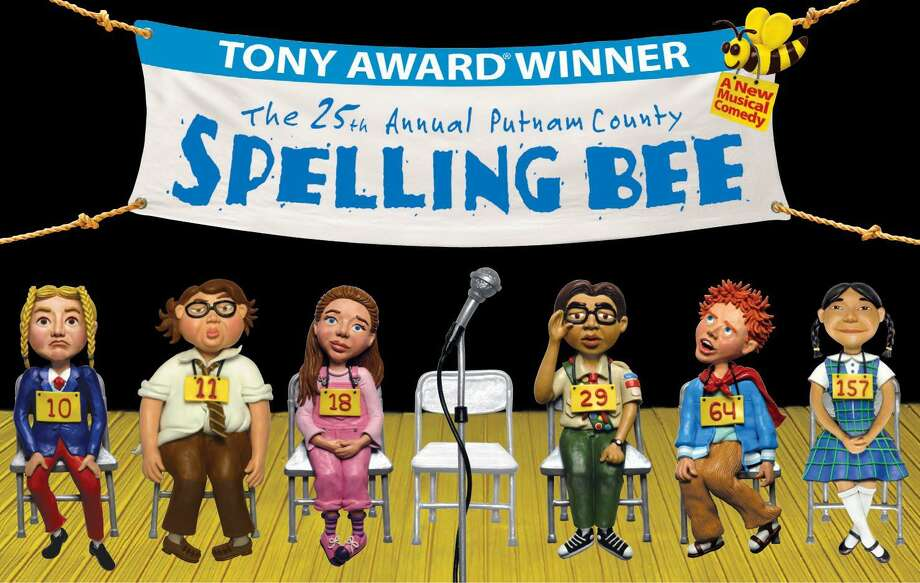 """The students of the Warner Theatre Center for Arts Education Performance Lab will present the fast-paced crowd pleaser, """"The 25Th Annual Putnam County Spelling Bee,""""Feb. 7-9in the Nancy Marine Studio Theatre. Photo: Contributed Photo"""
