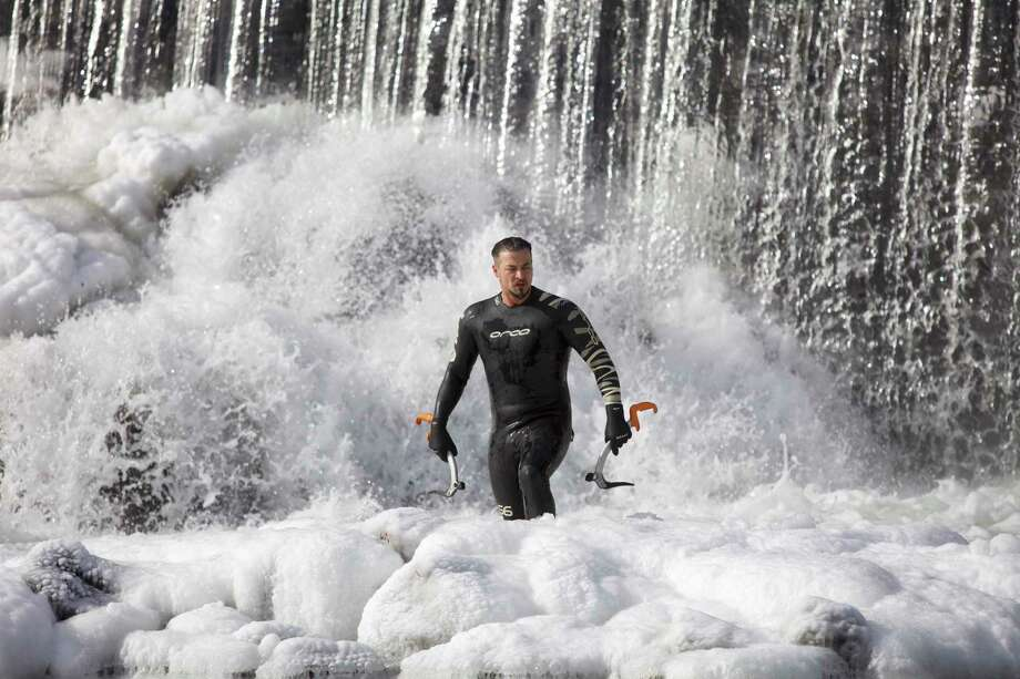 Connecticut's Beardsley Zoo is marking World Wetlands Day with explorer Justin Fornal, who will do an Open Water Swim on Feb. 2to help raise awareness for the Zoo's conservation efforts. Photo: Connecticut's Beardsley Zoo / Contributed Photo