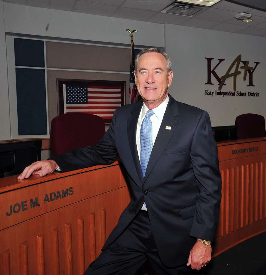 Joe Adams spent 27 years on the Katy School Board as a trustee. Photo: Eddy Matchette, Freelance / For The Chronicle / Freelance