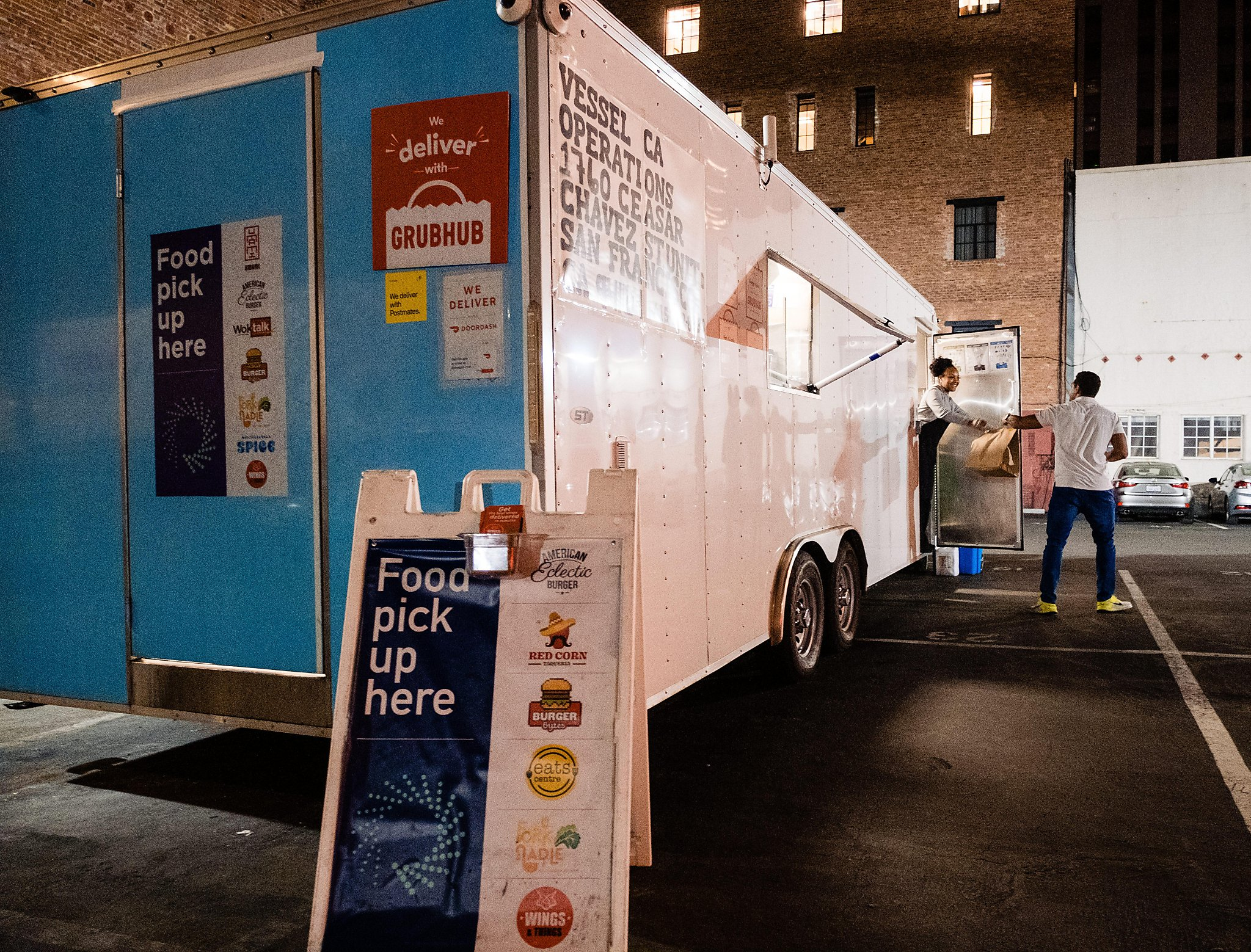 Ghost Kitchens Spring Up In Sf And Delivery App Customers Are None The Wiser