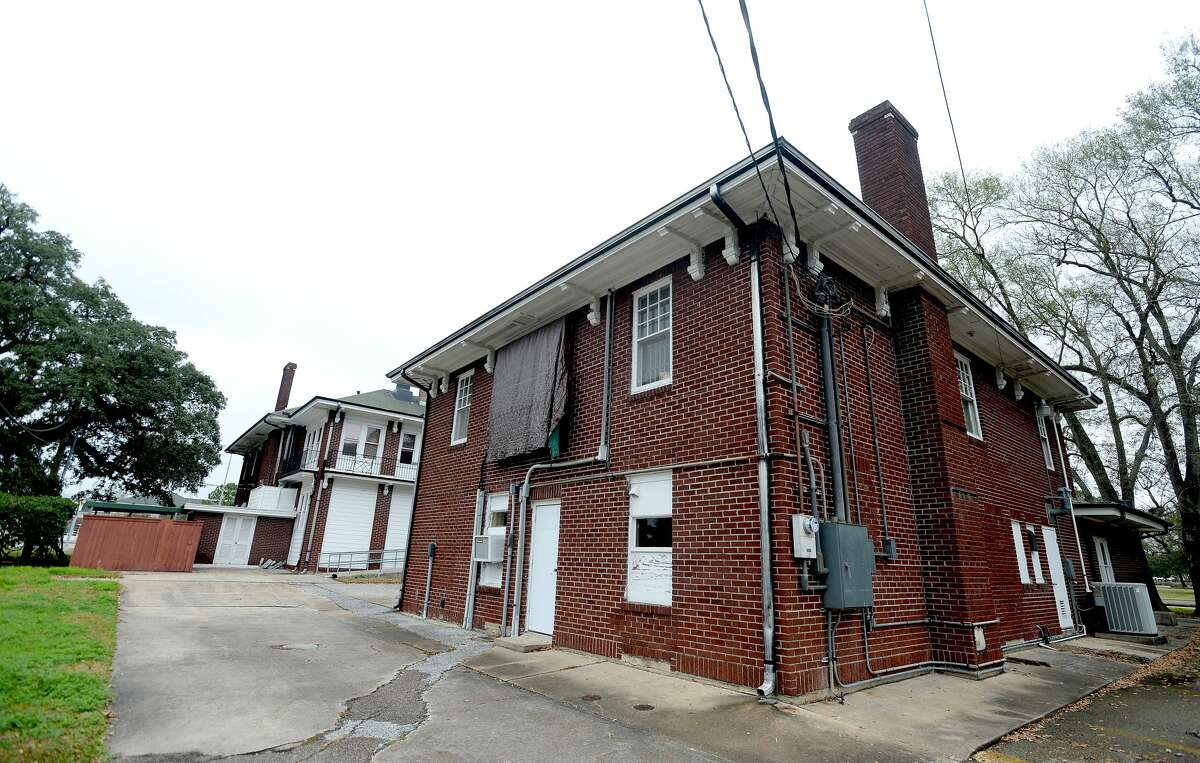 The old Orange City Jail and Police Department was located in what was once the carriage house of the Brown family home on Green Avenue. The house was later the home of city hall. Photo taken Monday, Jan. 27, 2020 Kim Brent/The Enterprise