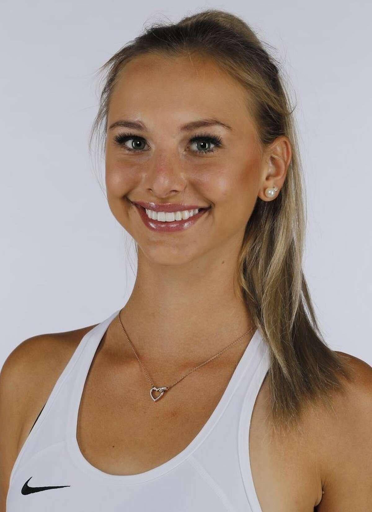 Stephanie Belovukovic is a sophomore on UH's women's tennis team.