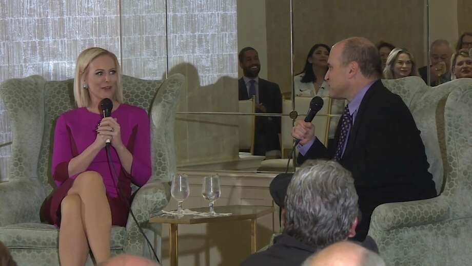 "On Jan. 29, San Antonio Express-News reporter Gilbert Garcia had an in-depth conversation with Margaret Hoover from ""Firing Line with Margaret Hoover"" during which they discussed journalism, the current political climate and, of course, her great-grandfather, Herbert Hoover. Photo: Courtesy KLRN TV"