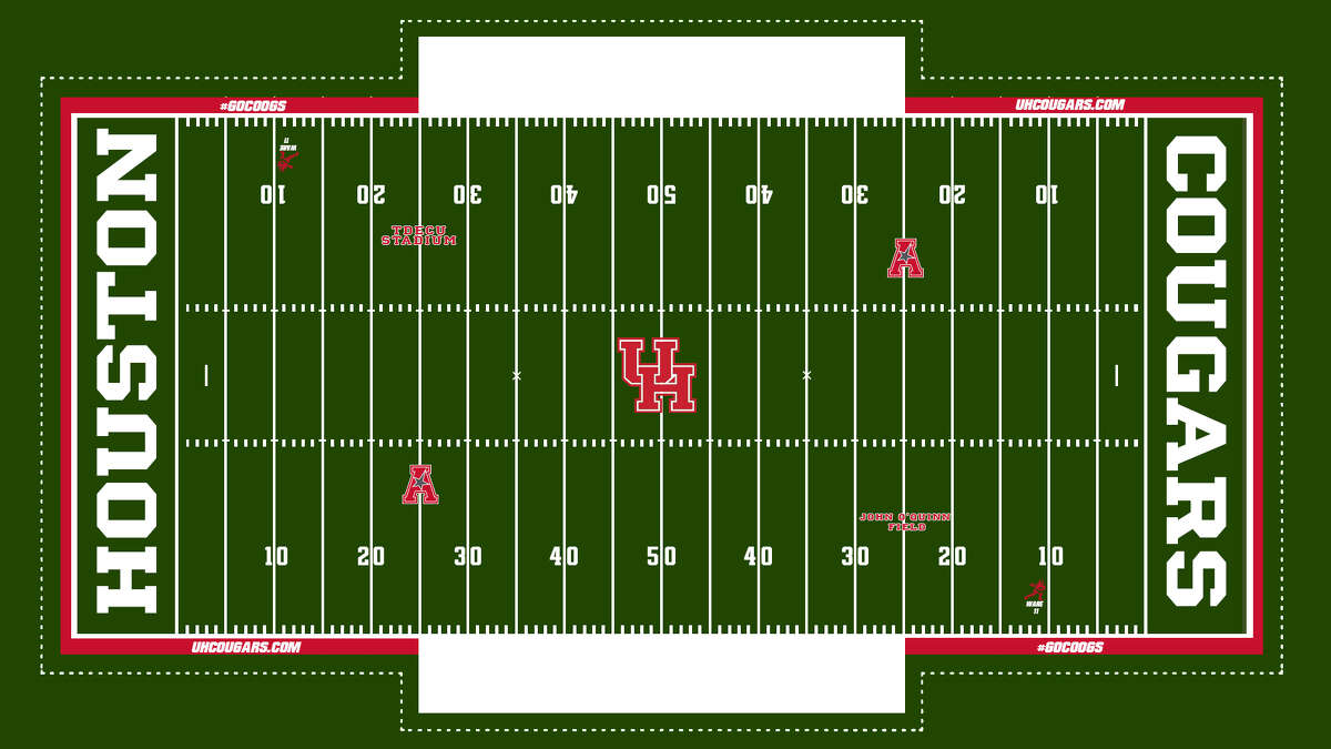 The University of Houston on Friday announced a customizable FieldTurf will be installed that will allow the school to create new field designs for each home football game beginning next season.