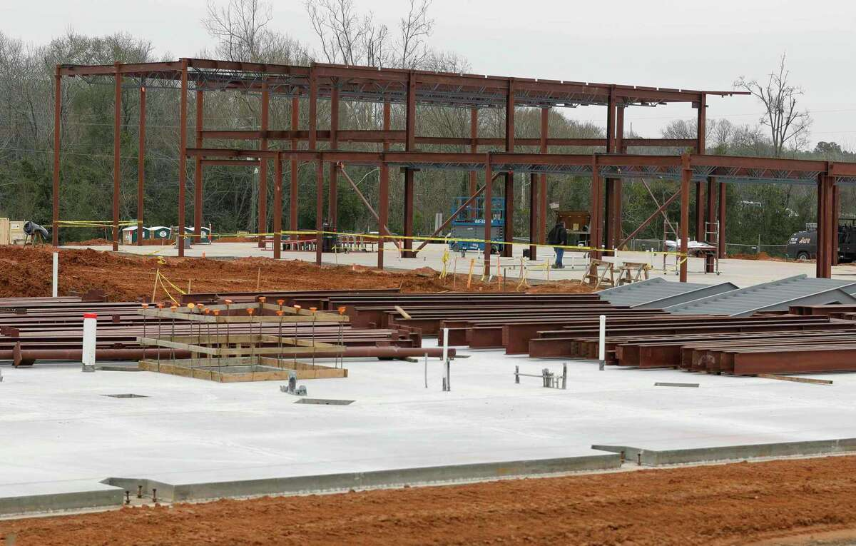 Construction of a new Willis ISD administration building continues along North Campbell Street. The $7 million building is expected to open in September 2020 and will consolidate the district's administration department currently spread between four different buildings.