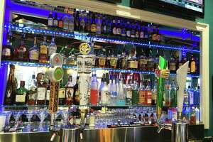 The Lion Pub bar, located near UTSA off Loop 1604.