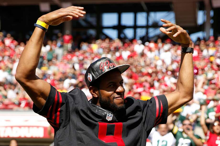 Andre Iguodala Former Warrior told NBA.com he grew up a Niners fan. Photo: Ezra Shaw/Getty Images
