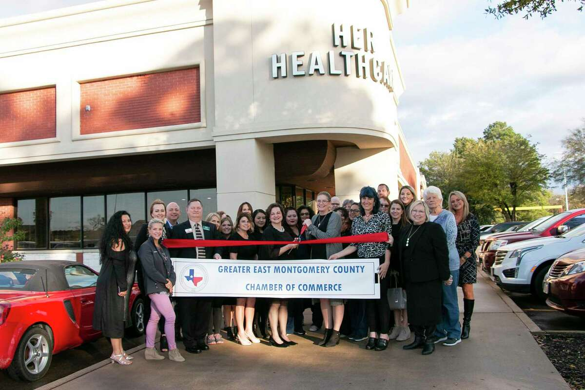 Her Healthcare, a women's clinic in Kingwood, held a ribbon-cutting on Jan. 28 for joining the Greater East Montgomery County Chamber of Commerce.