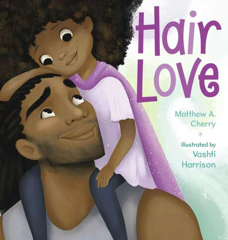 "CHILDREN'S BOOKS: ""Hair Love"" by Matthew Cherry and illustrated by Vashti Harrison. Cherry has been nominated for an Oscar for a movie short he created for the book."