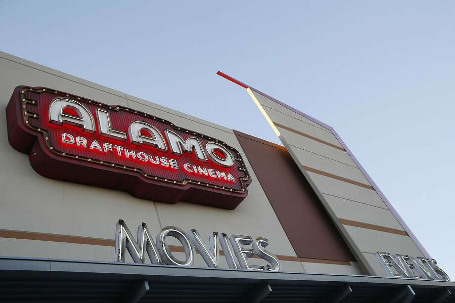For $150, Alamo Drafthouse allows customers to reserve a theater and invite up to 30 people. Photo: Andy Jacobsohn, Associated Press