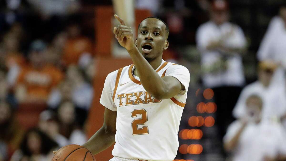 Texas guard Matt Coleman III (2) during the second half of an NCAA college basketball game against LSU, Saturday, Jan. 25, 2020, in Austin, Texas. LSU won 69-67. (AP Photo/Eric Gay)