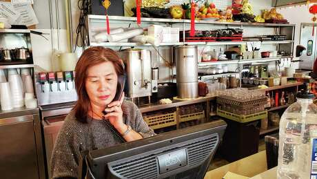 Muoi Ma, manager of Tan Tan Restaurant in Chinatown, Houston, Texas (1/31/2020).
