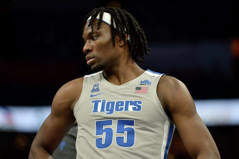 Precious Achiuwa and Memphis face UConn on Sunday at the XL Center. Photo: Brandon Dill / Associated Press / Copyright 2020 The Associated Press. All rights reserved