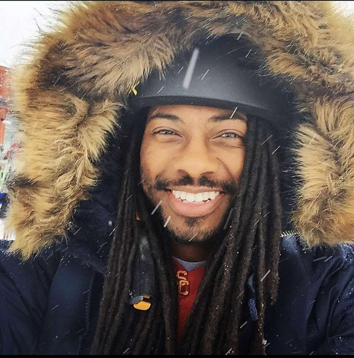 DeCarlis Wilson, 30, of San Francisco, poses for an undated photograph. Wilson had been riding his motorcycle on the 1800 block of Mission Street in San Francisco on Sunday, January 26, 2020 when a crash occurred at 4:45 p.m. on Sunday, according to the San Francisco Police Department.