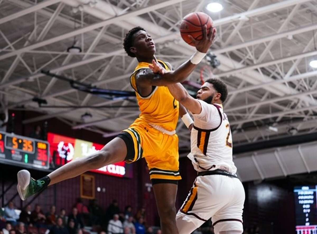 Siena's Gary Harris Jr. goes to the basket against Iona during their Metro Atlantic Athletic Conference game on Friday, Jan. 31, 2020, at Hynes Athletics Center. (Geraldo Rodriguez / Special to the Times Union)
