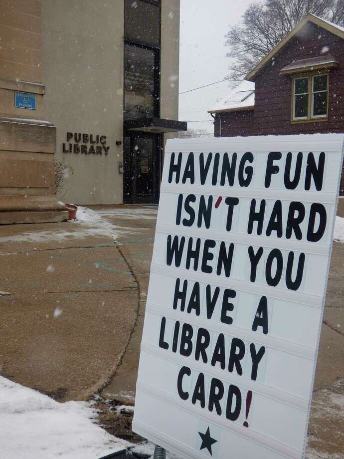 Officials with the Manistee County Library announced an end to late fees starting Feb. 1.(Scott Fraley/News Advocate)