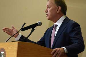 Governor Ned Lamont said Friday that the passage of trucks-only highway tolling will occur the week of Feb. 10.
