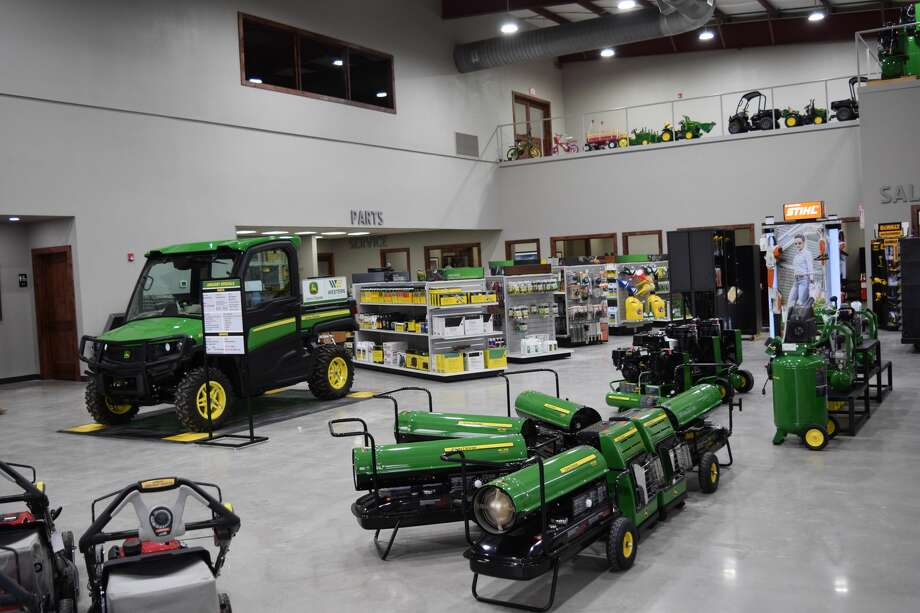 The new location provided a bigger space for Western Equipment's showroom, among other amenities for the company. Photo: Ellysa Harris/Plainview Herald