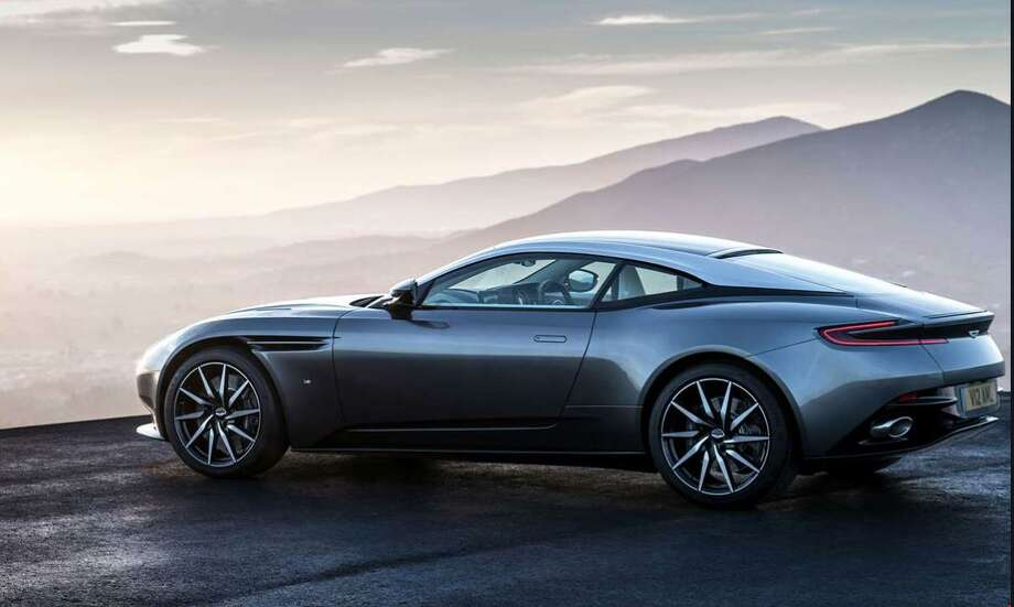 The Aston Martin DB11 is the most expensive car on Darien's 2019 Grand List. Photo: Contributed /