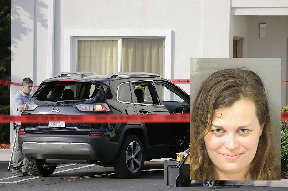 HannahRoemhild, who the Associated Press reported is a Connecticut opera singer, faces two felony charges of assault on an officer using a deadly weapon, according to the Palm Beach County court case search. Photo: Palm Beach County Sheriff's Office