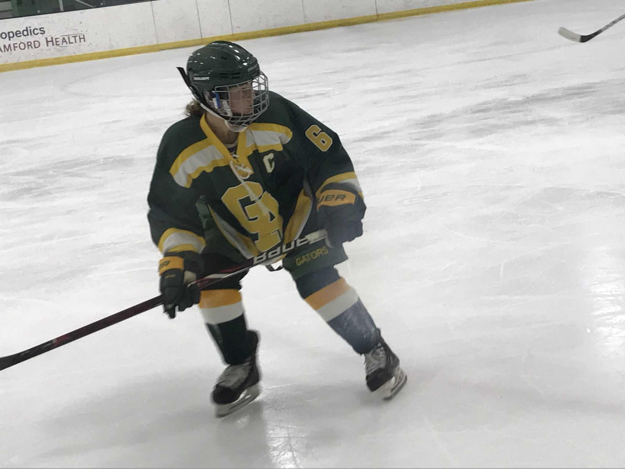 Greenwich Academy Ice Hockey Team Facing Top Nepsac Teams