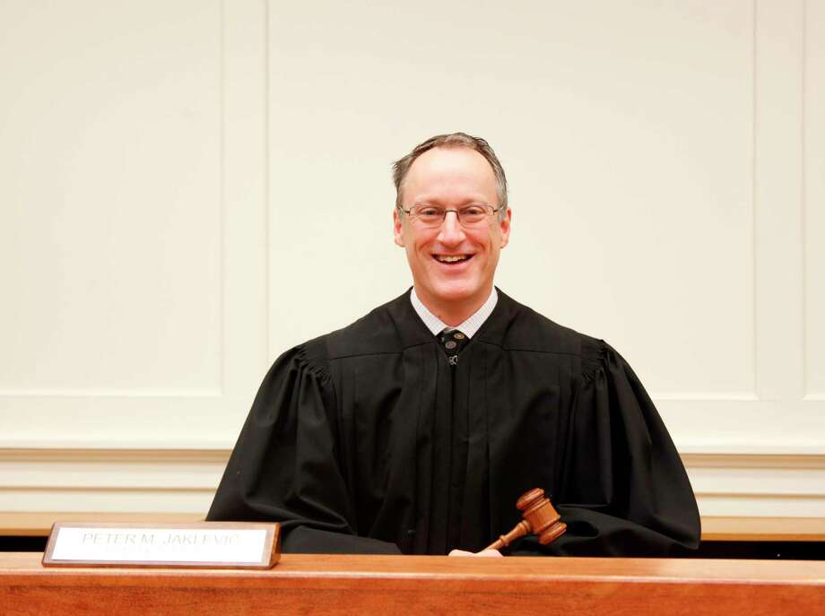 77th District Court Judge Peter Jaklevic said after more than 20 years working in the area, Mecosta County has become his home. (Pioneer photo/Taylor Fussman)