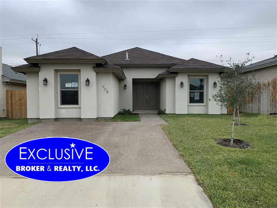 908 La Rosita Click the address for more information $181,000. SqFt lot 4,500. 3 Bedrooms, 2 Full Bath, year built 2019, Amenities : Gas Line, Microwave built in, tile floors, Kitchen/ dining combo, Island, Granite School District : UISD Subdivision: Southern Development Unit 2 Zone: 05 E of Ejido St., Between Hwy 359 & Southgate/Lomas Del Sur. Mario A Zaragoza: Exclusive Broker & Realty, LLC  mariozaragoza@yahoo.com, 956-2829675 Photo: Exclusive Broker & Realty, LLC
