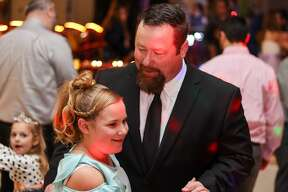 The Bad Axe junior varsity and varsity softball teams hosted their second annual Blue and Gold Ball for fathers and daughters in the area, as the main fundraiser for the teams.