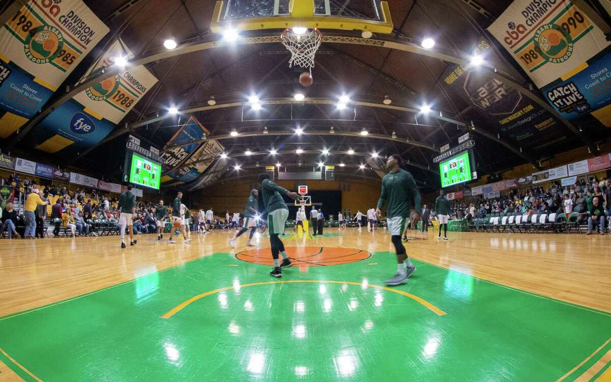 The Washington Avenue Armory in Albany - perhaps best known as home court of the Patroons basketball team - will be transformed into a mass-vaccination site, slated to open in March.(Jim Franco/Special to the Times Union.)