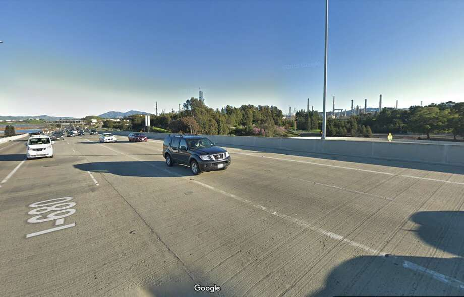 The refinery in Martinez, Calif. Photo: Google Street View
