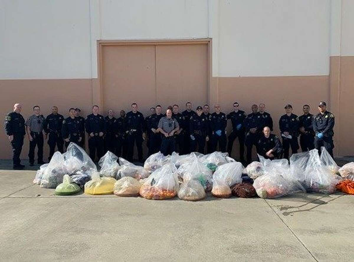 Deputies at Santa Rita Jail confiscated what they believe to be a couple hundred gallons worth of jailhouse alcohol that inmates were storing ahead of the Super Bowl.